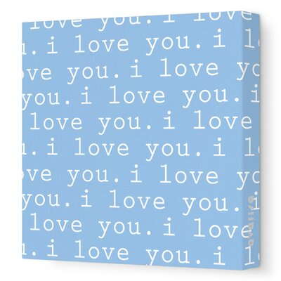 Avalisa Imaginations 'I Love You' Stretched Canvas Art