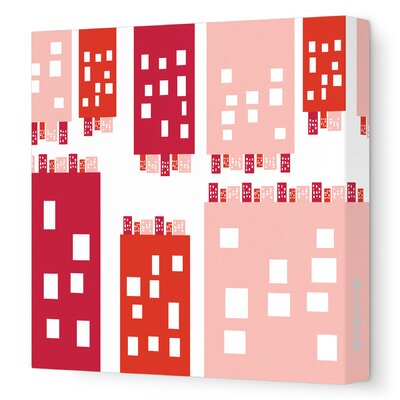 Imaginations City Stretched Canvas Art