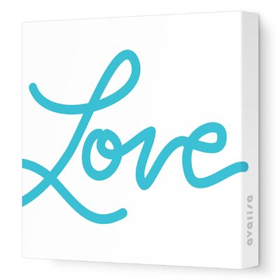 Avalisa Imaginations Love Stretched Canvas Art