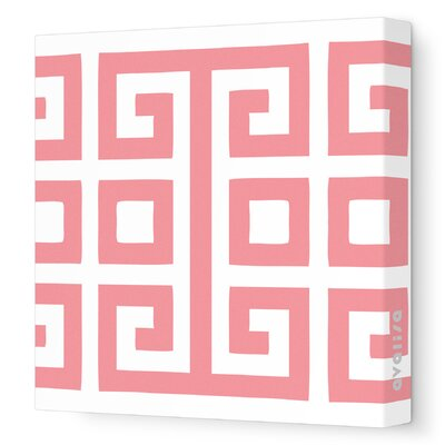 Avalisa Pattern Big Square Stretched Canvas Art