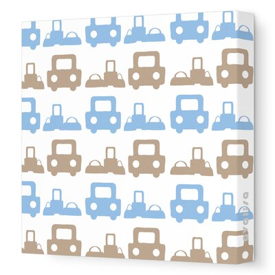 Avalisa Things That Go Roadtrip Stretched Canvas Art
