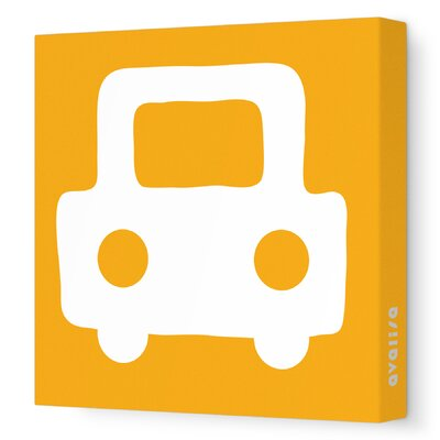 Avalisa Things That Go Auto Stretched Canvas Art