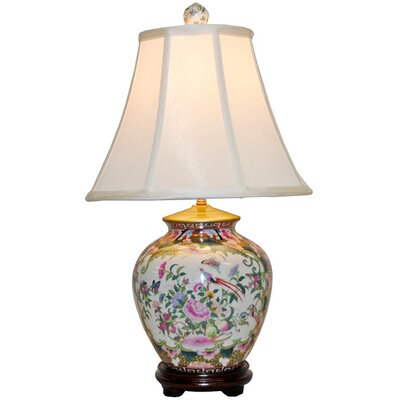 Amita Trading Ginger Jar 1 Light Table Lamp