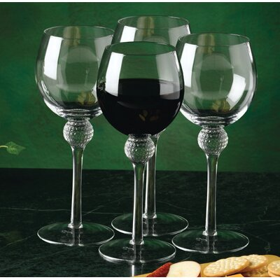 Golf Gifts & Gallery Golf Wine Glass (Set of 4)