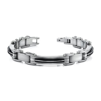 Elegant New Style Mens Stainless Steel Bracelet