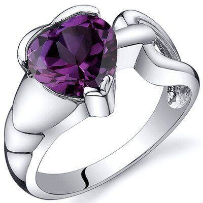 Love Knot Style 2.50 carats Ring in Sterling Silver