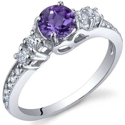 Enchanting 0.50 Carats Ring in Sterling Silver