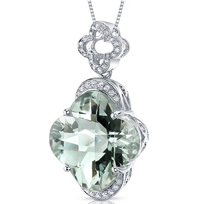 Lilly Cut Gemstone Pendant