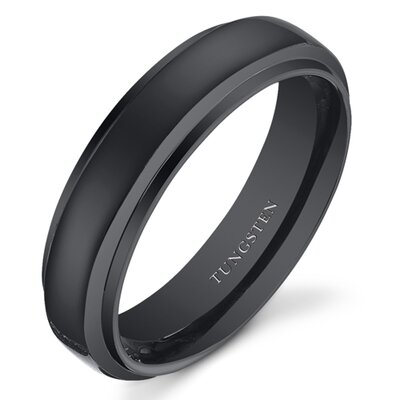 Oravo Tungsten Wedding Band