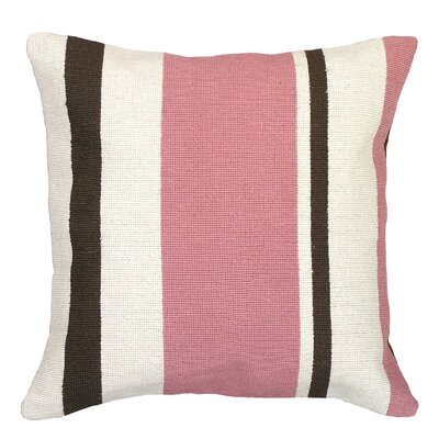 Stripes Needlepoint Pillow
