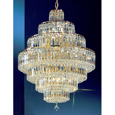 Classic Lighting Ambassador 18 Light Chandelier