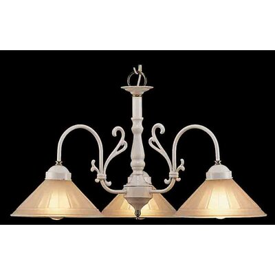 Classic Lighting Biltmore 3 Light Chandelier