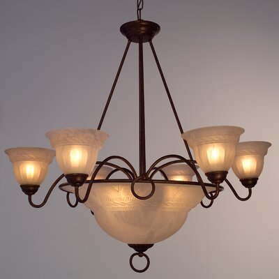 Livorno 9 Light Pendant