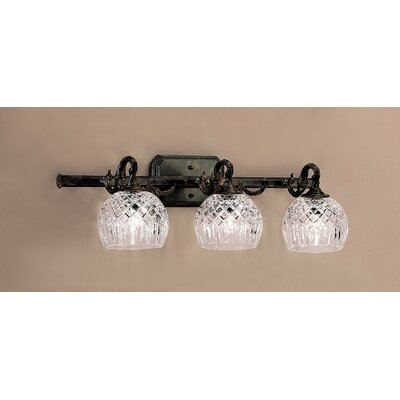 Classic Lighting Waterbury 3 Light Bath Vanity Light