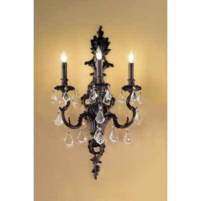 Classic Lighting Majestic 3 Light Wall Sconce