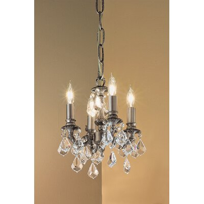 Classic Lighting Majestic 4 Light Mini-Chandelier