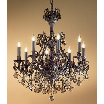 Classic Lighting Majestic Imperial 8 Light Chandelier