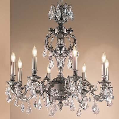 Classic Lighting Chateau 8 Light Chandelier