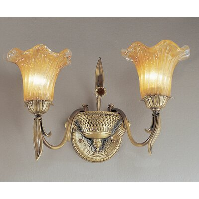 Classic Lighting Venezia 2 Light Up Wall Sconce