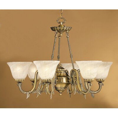 Classic Lighting St. Moritz 6 Light Chandelier