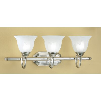 Classic Lighting Yorkshire II 3 Light Bath Vanity Light