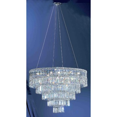 Classic Lighting Sofia 11 Light Chandelier