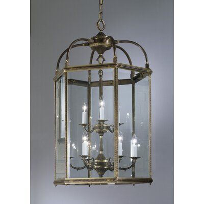 Classic Lighting European 9 Light Outdoor Hanging Lantern