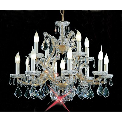 Classic Lighting Maria Thersea 13 Light Chandelier