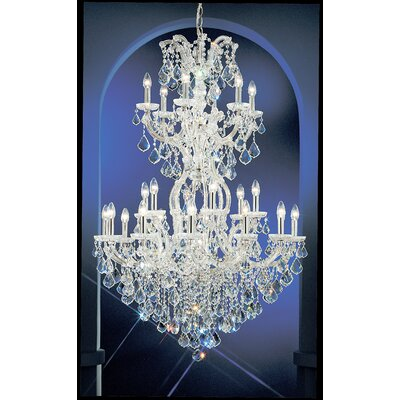 Classic Lighting Maria Thersea 25 Light Chandelier