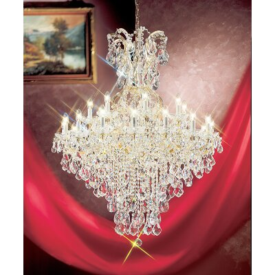 Maria Thersea 25 Light Chandelier