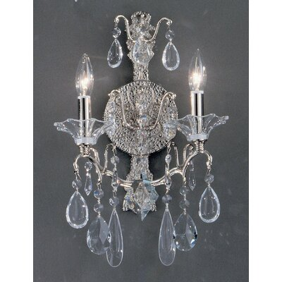 Classic Lighting Garden of Versailles 2 Light Wall Sconce