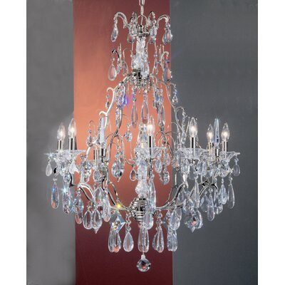 Classic Lighting Garden of Versailles 9 Light Chandelier