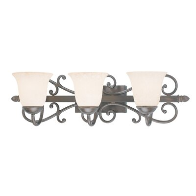 Classic Lighting Cape Cod 3 Light Bath Vanity Light