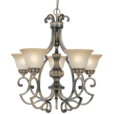 Classic Lighting Westchester 5 Light Chandelier