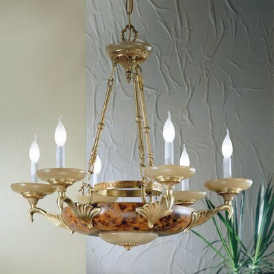 Queen Anne II 8 Light Chandelier