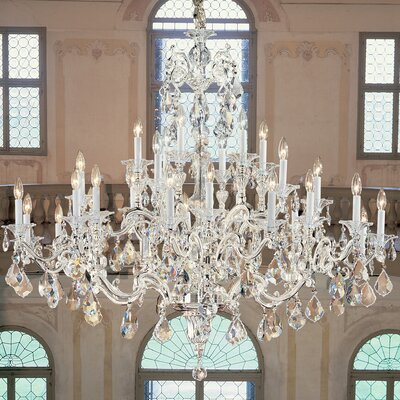 Classic Lighting Via Firenze 30 Light Chandelier