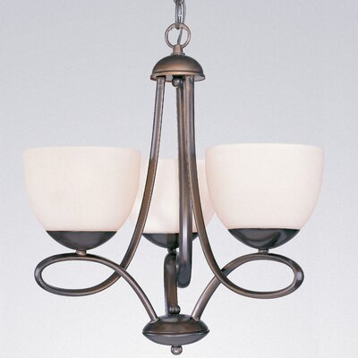 Odyssey 3 Light Mini-Chandelier