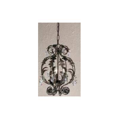 Classic Lighting Siena 3 Light Pendant