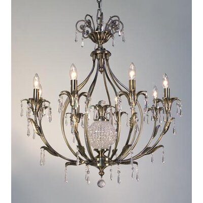 Classic Lighting Sharon 8 Light Chandelier