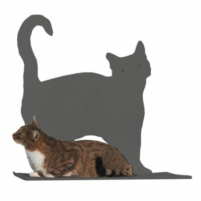 <strong>The Refined Feline</strong> Cat Silhouette Prance Cat Shelf