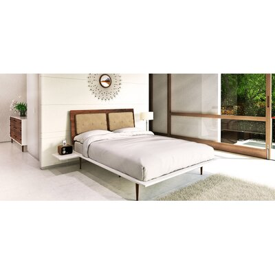 Copeland Furniture Mimo Fabric Upholstered Panel Bedroom Collection