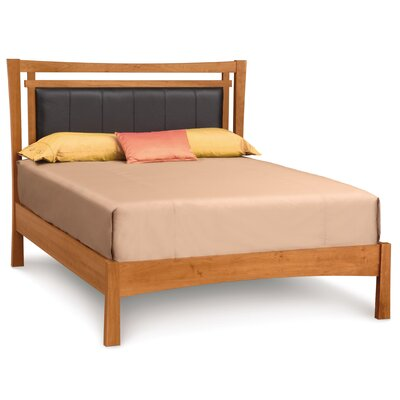 Monterey Upholstered Leather Panel Bed