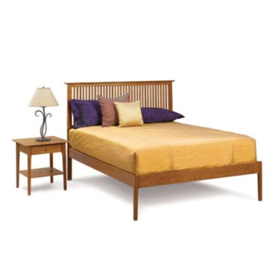 Sarah Spindle Bedroom Set with Low Footboard