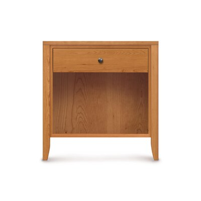 Dominion 1 Drawer Nightstand with Overhanging Top