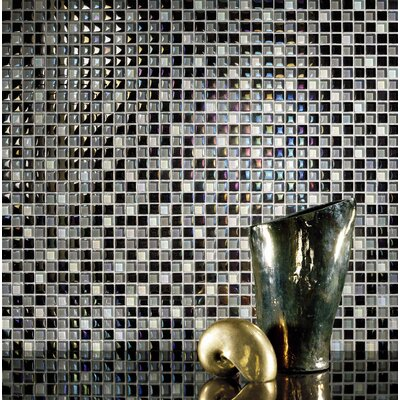 Casa Italia Metallica Glass Mosaic in Mix Metallica Grigio