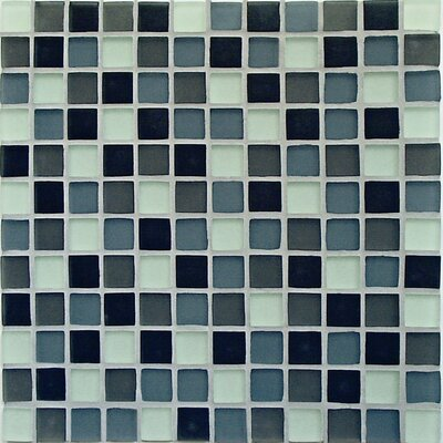 Crystal-A Glass Mosaic in Classic Mix Frosted