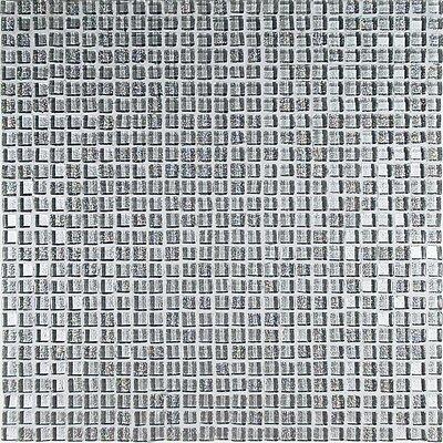 Casa Italia Crystal-A Glass Mosaic in Trasperenze Argento