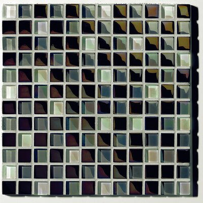 Metallica Glass Mosaic in Mix Metallica Grigio