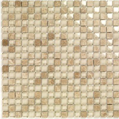Casa Italia Pure & Natural Natural Stone and Glass Mosaic in Pure Light Emperador