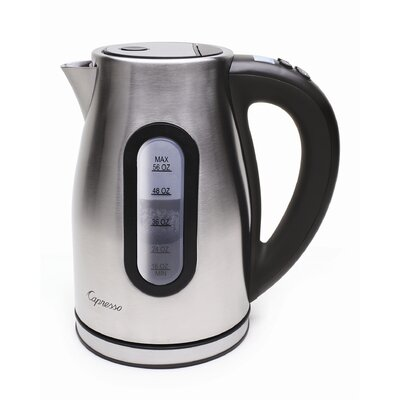 Capresso 1.75-qt. H2O PRO Electric Tea Kettle
